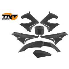 TNT Bodywork kit, Black, Derbi Senda 00-08