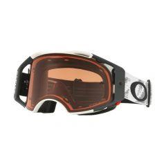 Oakley Goggles Airbrake MX Matte White w/PrizmBronze