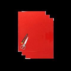 Blackbird Coloured sheet red 47x33cm (3pcs)