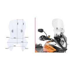 Givi Specific sliding wind-screen, 1190 Adventure / Adventure R (13)