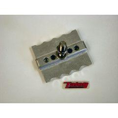 TALON CNC Rim lock WM4 #2.50 polished aluminium