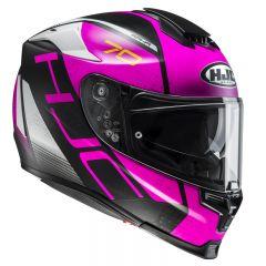 HJCHelmet RPHA 70 Vias MC8SF Black/Pink