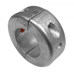 Perf metals anode, 50 mm shaft