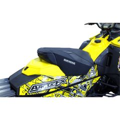 Skinz Seat Cover Black 2014- Ski-Doo Rev XM Lightweight w/Storage SWG455-BK