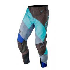 Alpinestars pants Techstar Venom, black/turquoise blue