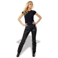 Sweep Leatherpants Madonna Lady, black