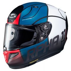 HJC Helmet RPHA 11 Quintain White/Red/Blue MC21SF